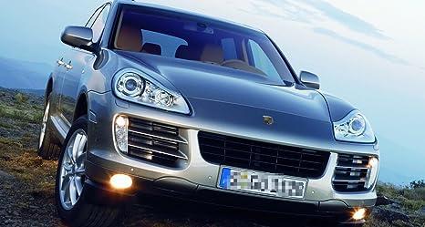 1pcs Turning luz de señal Luz parachoques delantero lado derecho 95563118602 para Porsche Cayenne 2008 - 2010: Amazon.es: Coche y moto