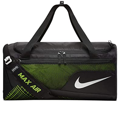 e9a7786cc7 Nike Mens Vapor Max Air Medium Training Duffel Bag BA5475-010 - Black Volt