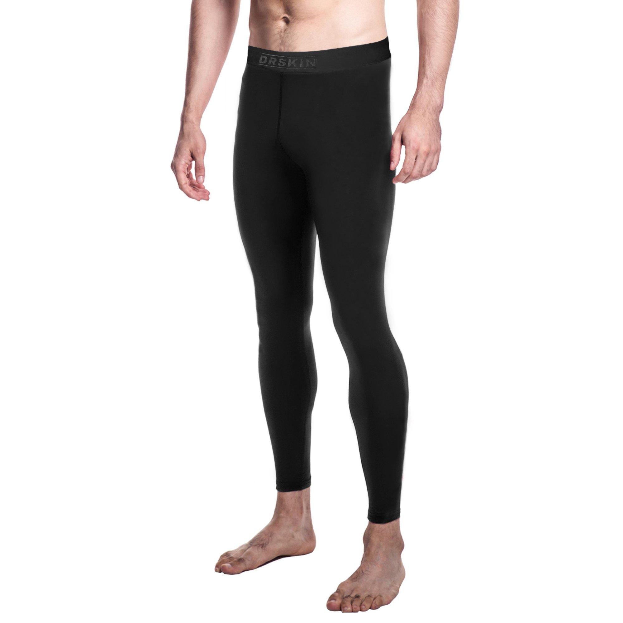 06c2bca047223 Galleon - DRSKIN Compression Cool Dry Sports Tights Pants Baselayer Running  Leggings Yoga Rashguard Men (Silicon BB01, 2XL)