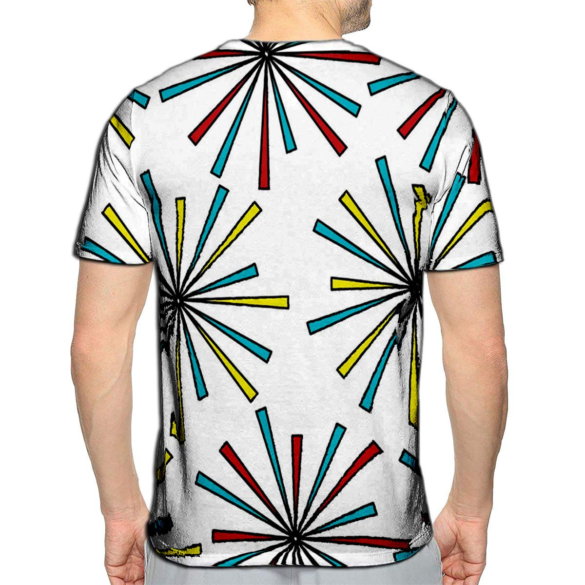 3D Printed T Shirts Start Over Casual Mens Hipster Top Tees