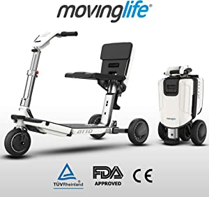 ATTO Folding Mobility Scooter by MovingLife
