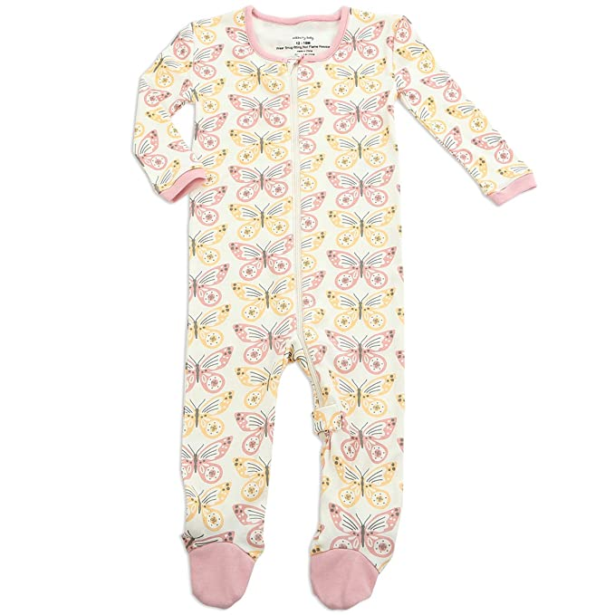 65f81ea3db7 Amazon.com  Silkberry Baby Unisex-Baby Organic Cotton Footie Sleeper   Clothing