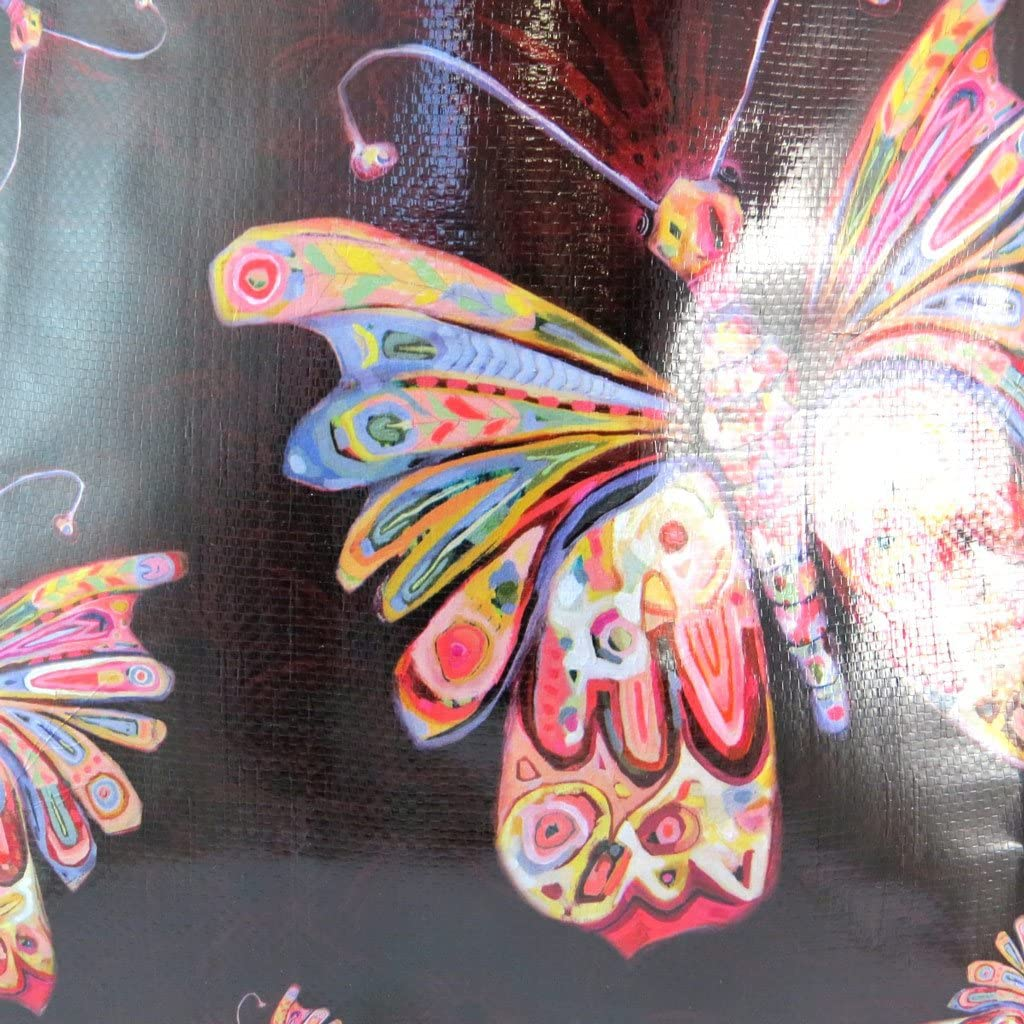 46x40x19 cm - Sac Shopping Design Allen Designs Papillons Allen Designs P5658
