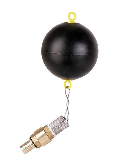 T.I.P. 30914 Ball flotador nadando Extracción con válvula de pie para cisternas. Bombas