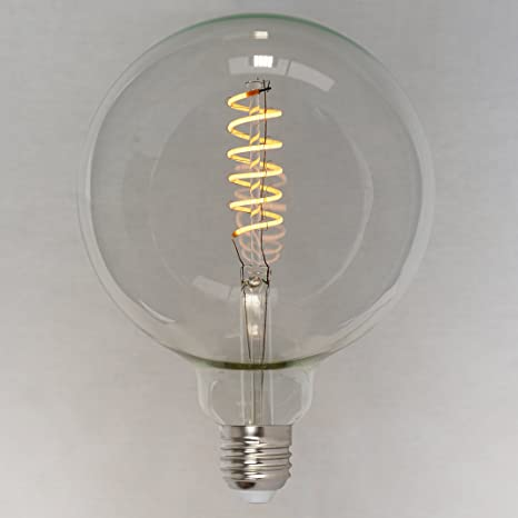 Intensidad regulable LED, estilo vintage Edison Bombilla de globo (4 W (40 W