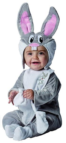 Disfraz lujo Pato Lucas bebé Looney Tunes 0-12 meses (50 68)  Amazon ... 19cb49b451df