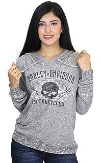 5d8825584 Harley-Davidson Womens Scroll Willie G Skull Windproof Fleece Red ...