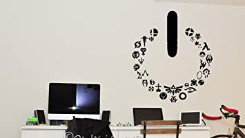 Gamer Video Game Wall Decals Controller Stickers Home Decor