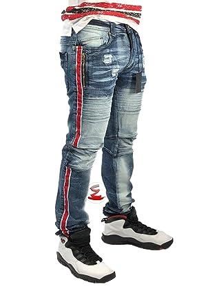 eb8c7211 Elite Premium Denim Desire 6064 Men's Jeans at Amazon Men's Clothing ...