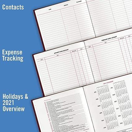Amazon.com: AT-A-GLANCE 2020 diario diario diario/libreta de ...