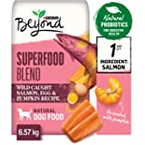Beyond Superfood Natural Dry Dog Food, Salmon, Egg, Pumpkin 6.57 kg Bag