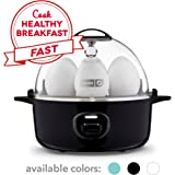 DASH Express Electric Egg Cooker, 7, Black