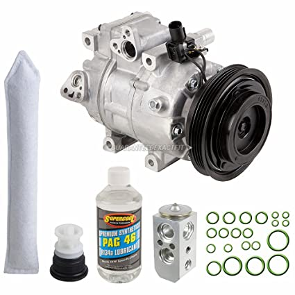 Amazon.com: AC Compressor w/A/C Repair Kit For Hyundai Accent 2006 2007 2008 2009 - BuyAutoParts 60-82311RK New: Automotive