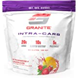 Granite® Intra-CARB Advanced Carb Supplement (Strawberry Lemonade)   20g Carbs + 10g Cluster Dextrin® + 5g Palatinose®   Train Longer w/No Crash   Soy Free + Gluten Free + Vegan   Made in USA