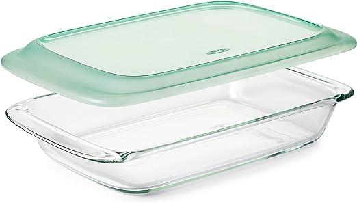 Amazon.com: OXO Good Grips - Bandeja de cristal para horno ...