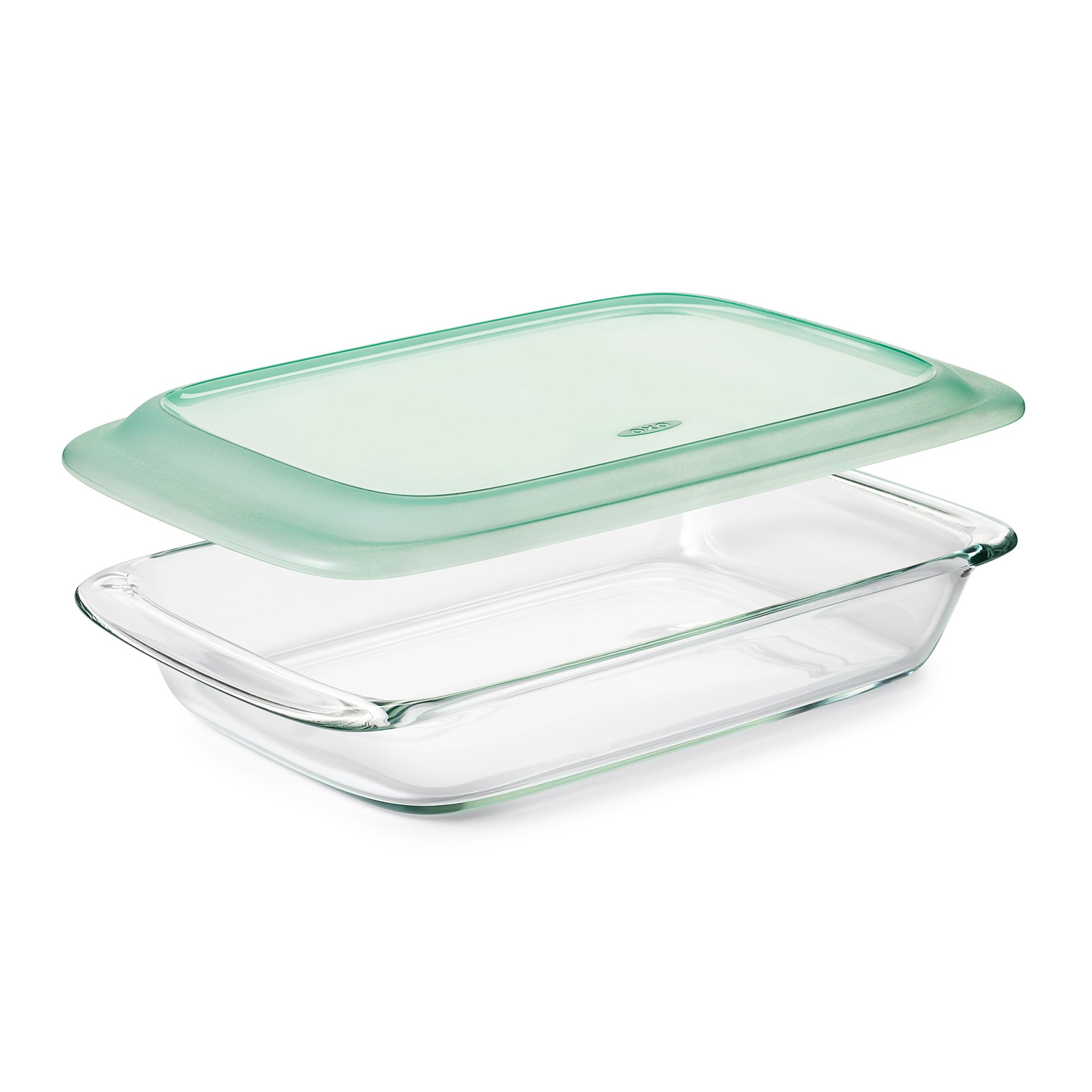 OXO Good Grips Freezer-to-Oven Safe 3 Qt Glass Baking Dish with Lid, 9 x 13 by OXO (Image #1)