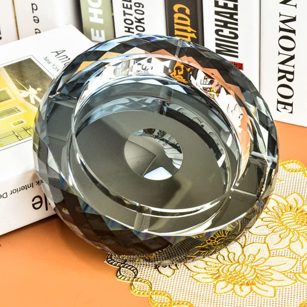 YWXG Posacenere di Cristallo Ornamenti di personalit/à di Moda creativi Buono Regalo Stile Europeo