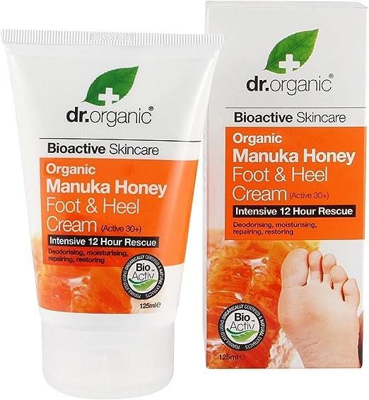2 opinioni per Dr.Organic Manuka Honey Crema Piedi 125 ml