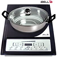 iBELL IBL Cloud 040Y 2000-Watt Induction Cooktop with Auto Shut Off & Over Heat Protection with Free Pot