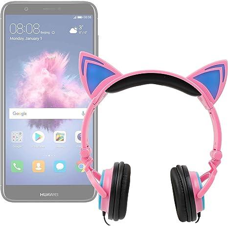 DURAGADGET Auricular niño Gato para Huawei P Smart (2019), Mate 20 ...