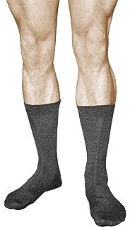 vitsocks Calcetines LANA MERINO Hombre (2 PARES) Para el Frío Invierno Otoño Calidad Premium