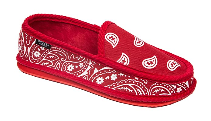 Amazon.com | Troooper America KS-002 Bandanna Paisley Slip-On ...