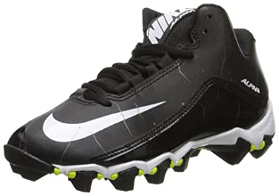 e1e3c47e0eac Nike Boy s Alpha Shark 2 3 4 Football Cleat Black Anthracite White Size