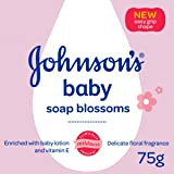 Johnson's Baby Soap Blossoms with New Easy Grip Shape (75g)