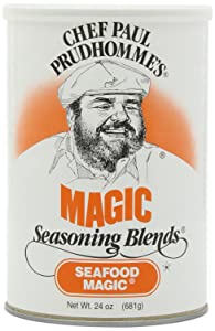 Chef Paul Seafood Magic Seasoning, 24-Ounce Canisters (Pack of 2)