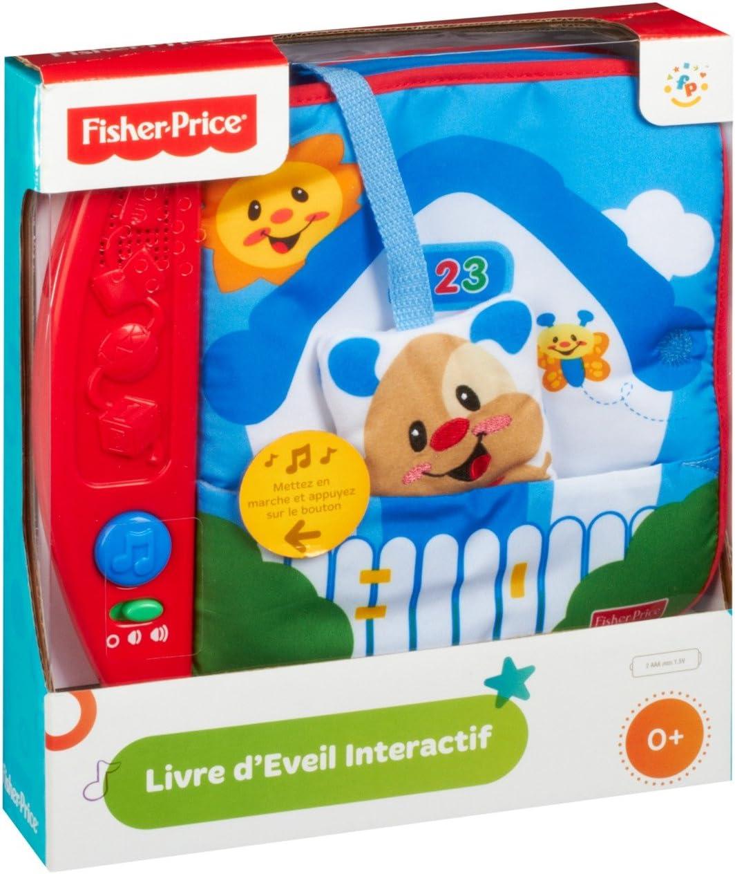 Fisher-Price - Libro interactivo en tela - aprendizaje (Mattel ...