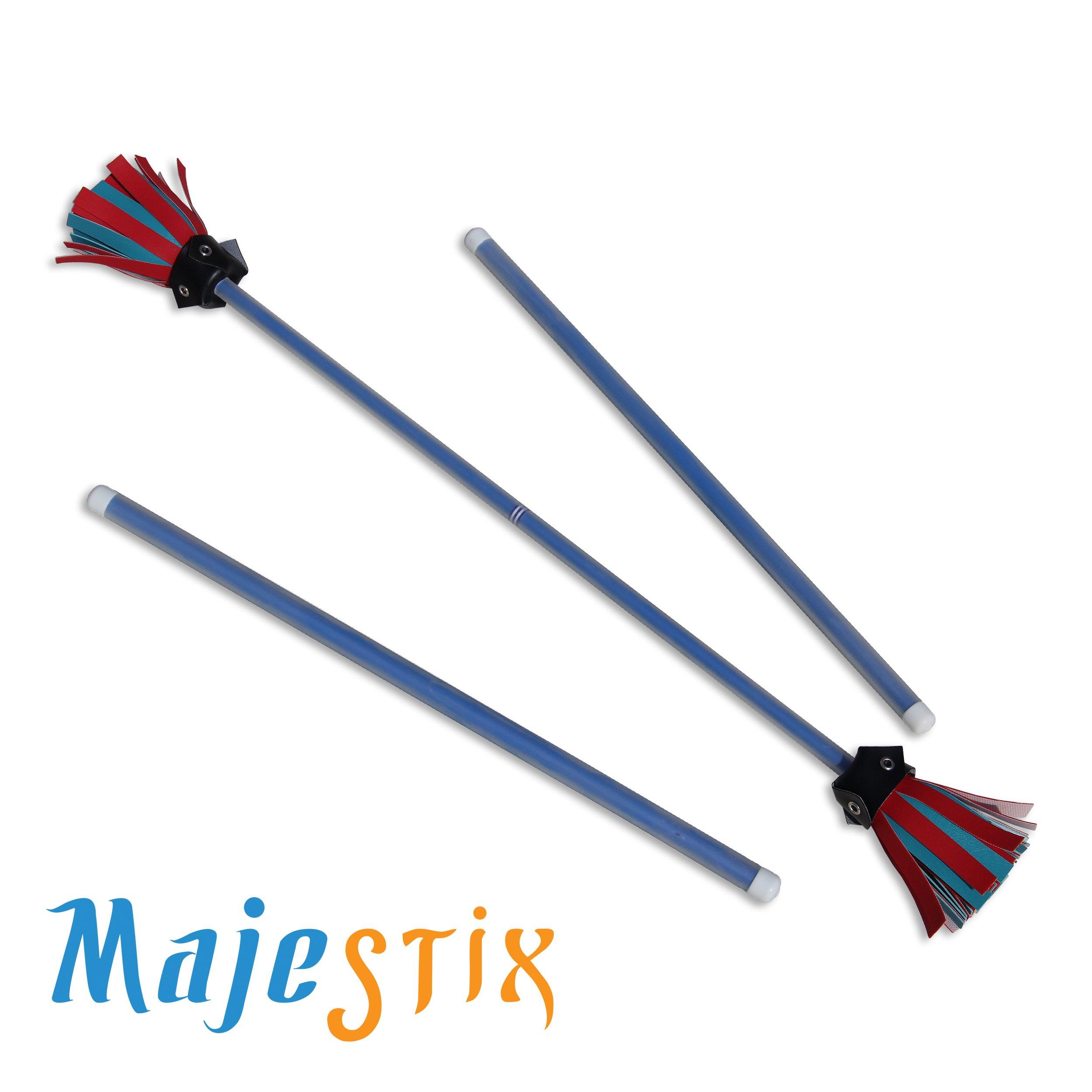Blue Majestix Juggling Sticks Devil Sticks by Jolly Lama! (Image #2)