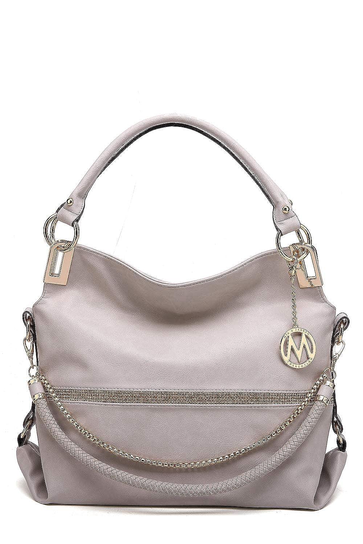 New Women/'s 2In1 Top-Handle Shoulder Handbag//Ladies Hobo /& Purse Messenger Bag
