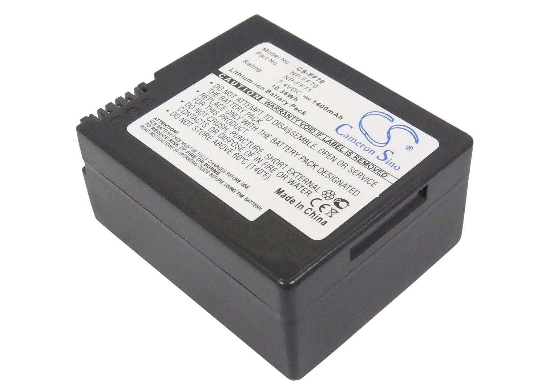 ビントロンズ( TM )バンドル – 1400 mAh交換用バッテリーSony ccd-trv108、ccd-trv318、+ビントロンズコースター   B017RC60UW