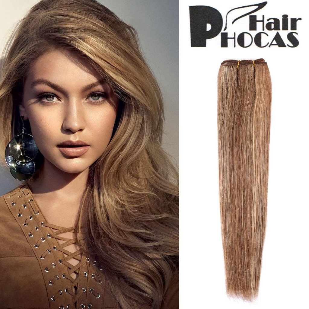 Amazon hairphocas highlights color 100 brazilian human hair amazon hairphocas highlights color 100 brazilian human hair weave dark brown hair with medium blonde highlights 8 10 24 hair extensions straight pmusecretfo Gallery