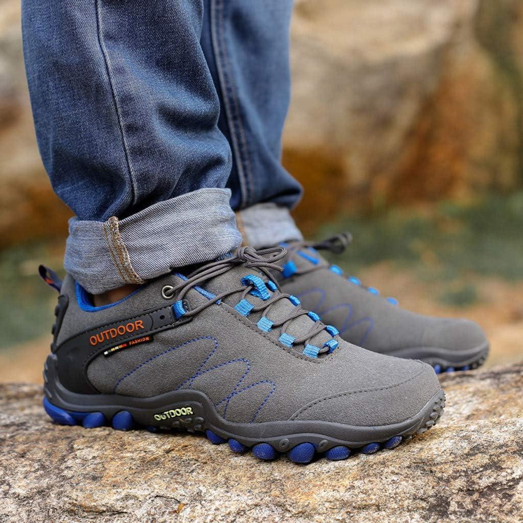 Jentouzz Spring Winter Hiking Shoes for Men Waterproof Mountain Climbing Trekking Shoes Casual Running Shoe Sneakers