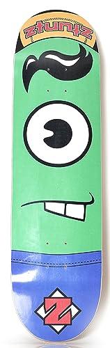 Ztuntz Skateboards Bucktee Plankton Park review