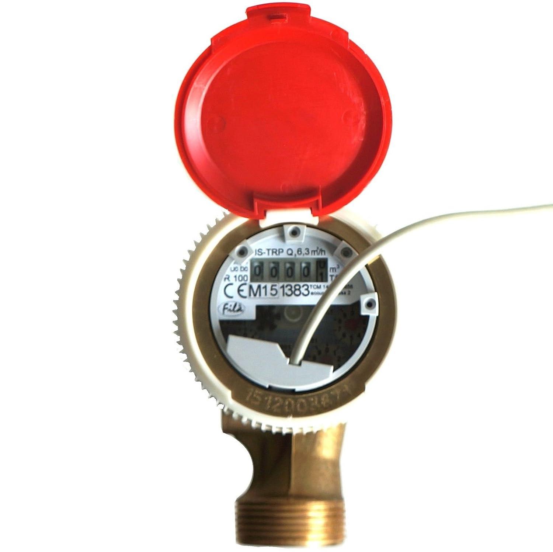 Ferro Smart Hot Wasserzähler mit Reed-Schalter Pulse Emitter 6,3M3/H antimagnetisch