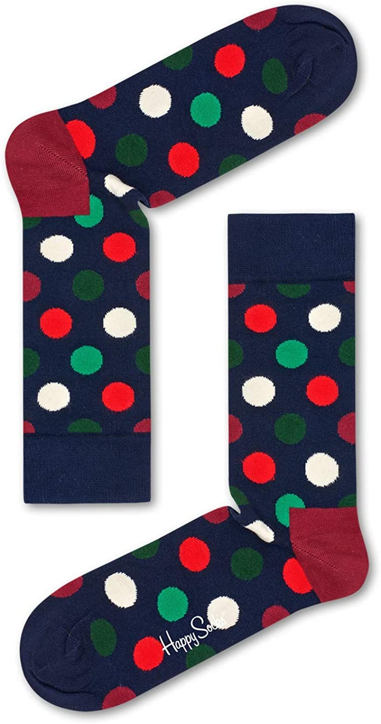 Happy Socks Big Dot Sock, Calcetines casual para Mujer