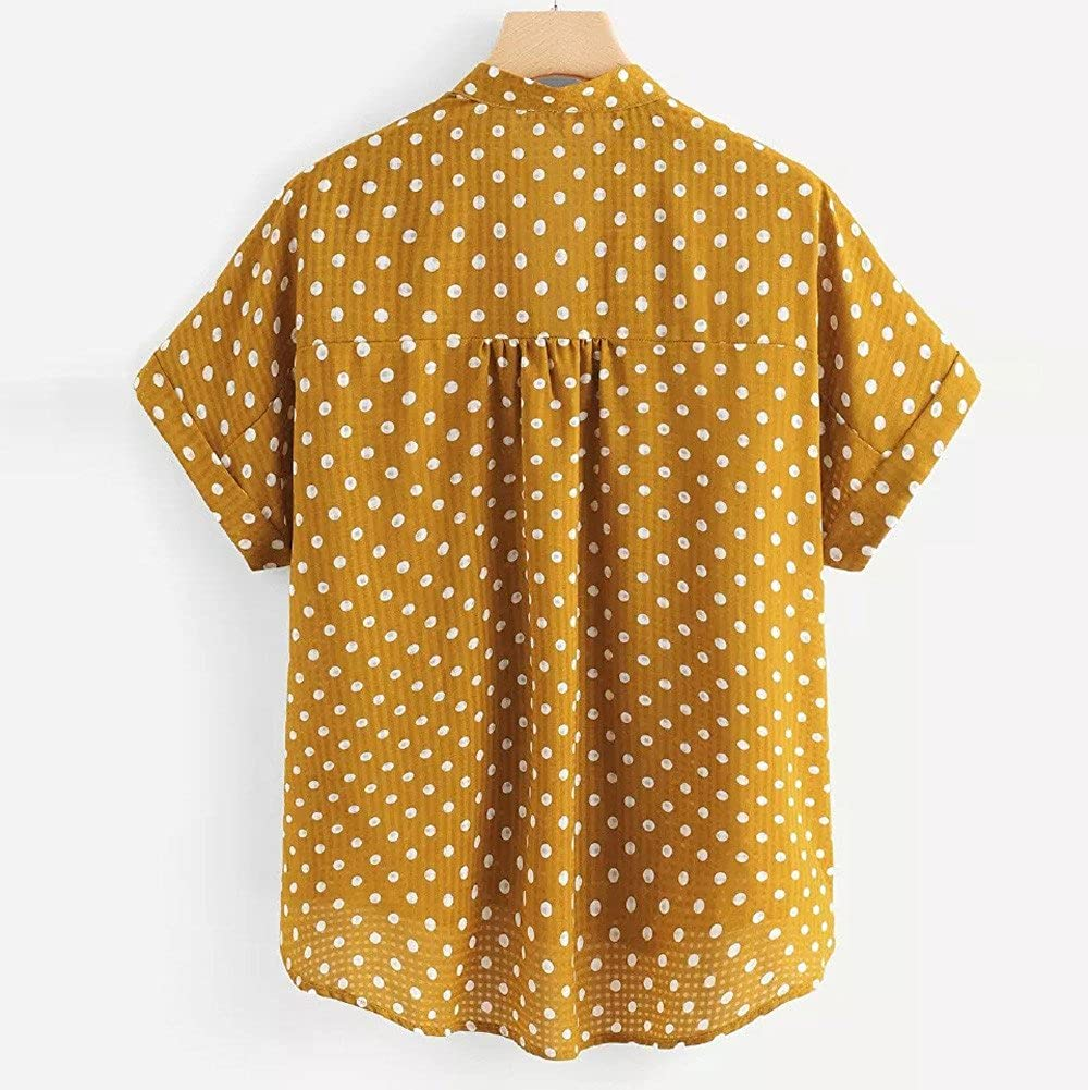 Amazon.com: Londony - Camisas de manga corta para mujer ...