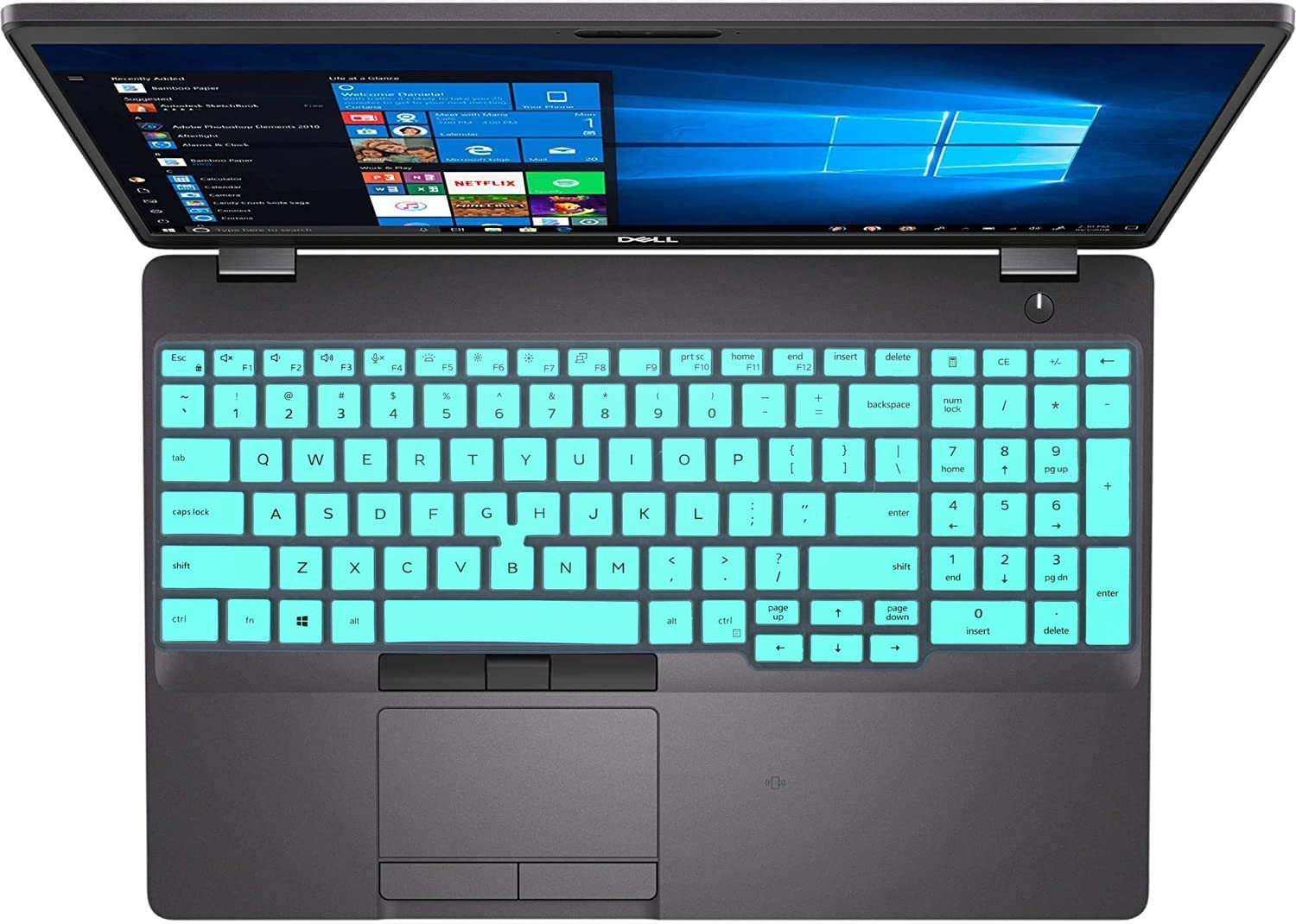 Keyboard Cover for 2020 2019 Dell Latitude 5500 5501 15.6