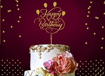 Amazoncom Boston Creative Company Happy Birthday Cake Topper
