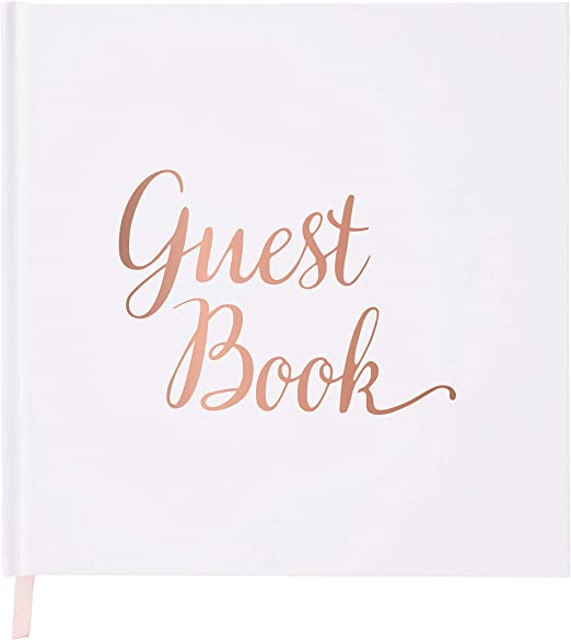 Your Perfect Day Wedding Guest Book Rose Gold - Guestbook - Blank - No Lines