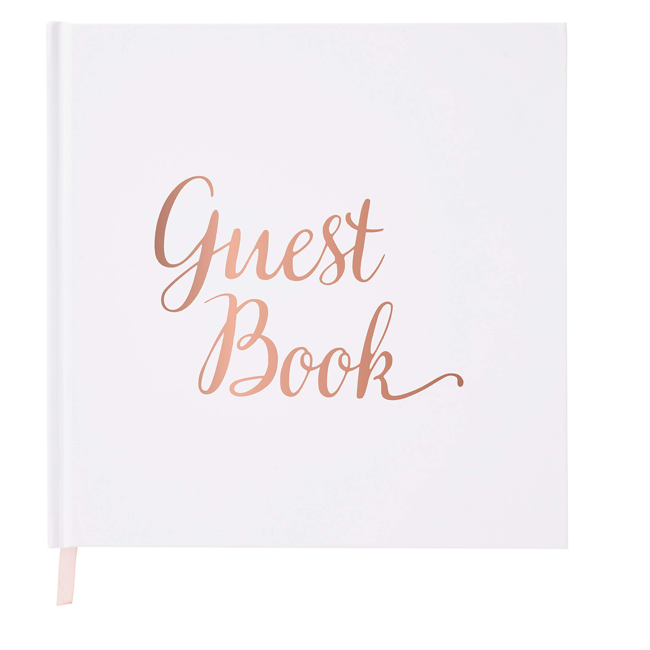 Your Perfect Day Wedding Guest Book Rose Gold - Guestbook - Blank - No Lines by Your Perfect Day