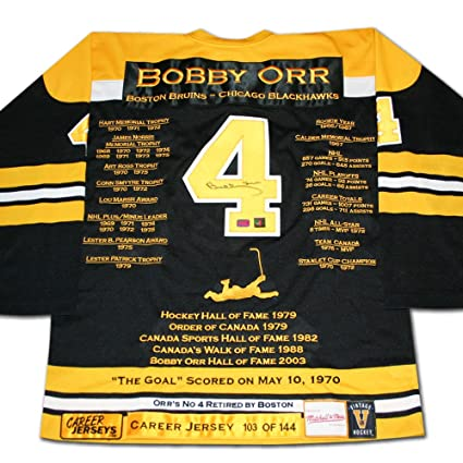 Image Unavailable. Image not available for. Color  Bobby Orr Career Jersey  ... 715eb37b6