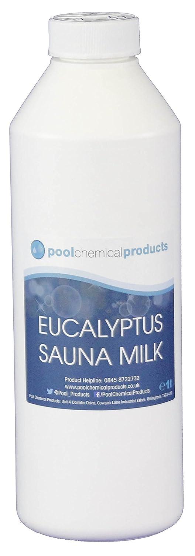 Eucalyptus Milk 1l Sauna Hot Tub Spa Aromatic Essence Pool Chemical Products