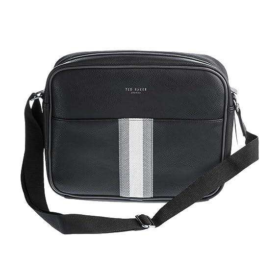Ted Baker Delano Messenger Bag in Black  Amazon.ca  Luggage   Bags cccfe15f7e