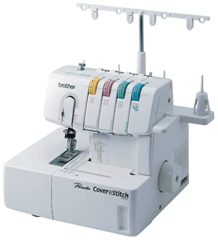 Amazon Brother 40CV Cover Advanced Serger ColorCoded Best Coverstitch Sewing Machine