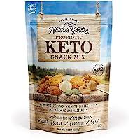 Nature's Garden Multi-Vitamins Probiotic Keto Trail Mix Dried Fruit -Tree Nuts (Almonds, Walnuts, Peanuts) Keto Cheese…