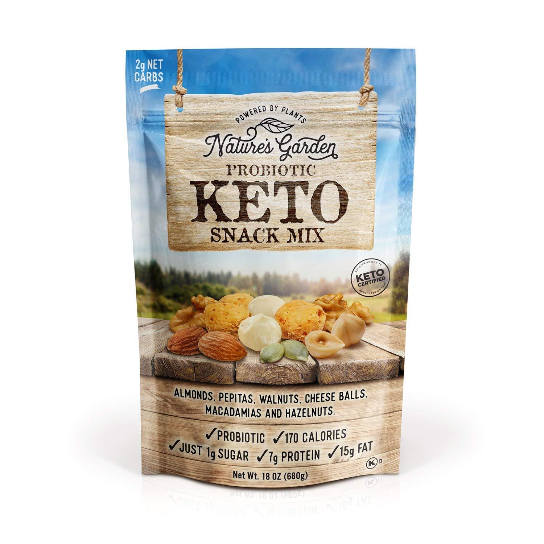 Nature's Garden Probiotic Keto Snack Mix - 18 oz