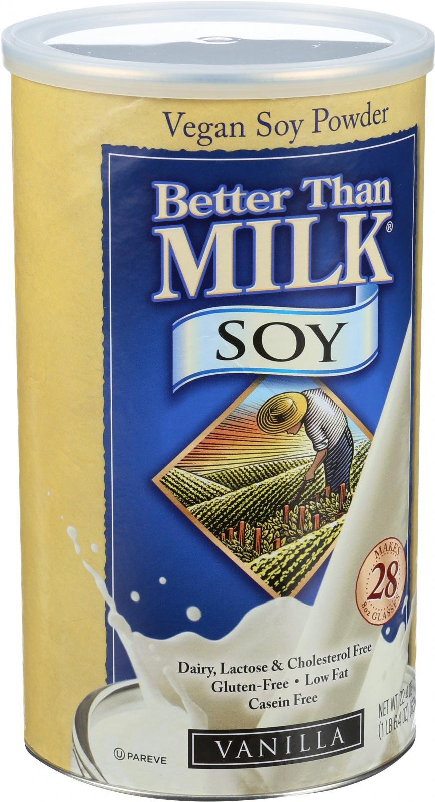 Better Than Milk Soy Vanilla Mix, 22.4 Oz -- 6 Per Case.